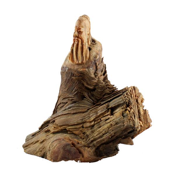孔子圣像木雕工艺摆件